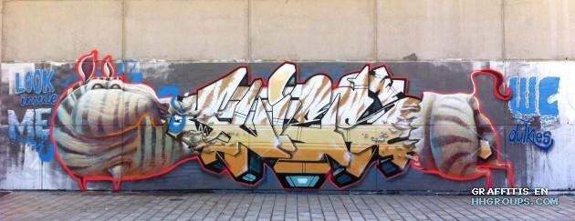 Mr. Kies y Dulk en Ontinyent (Valencia)