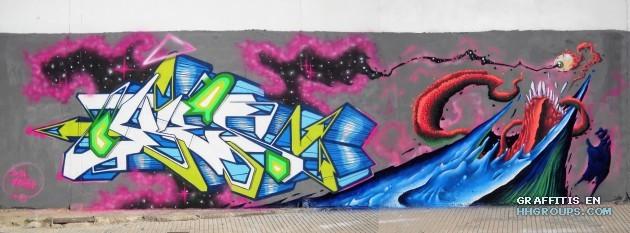 Mr. Kies y Totem en Gandía (Valencia)