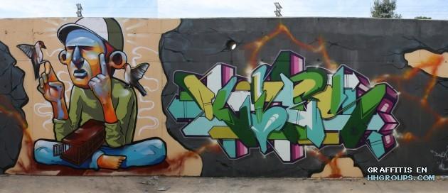 Mr. Kies y WC en Gandia (Valencia)