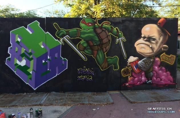 Pikerone en Madrid