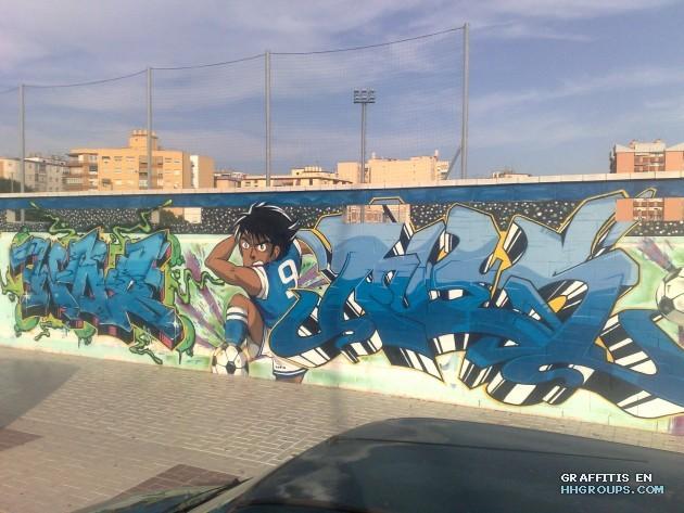 Rues, Was y Nando Mambo en Málaga