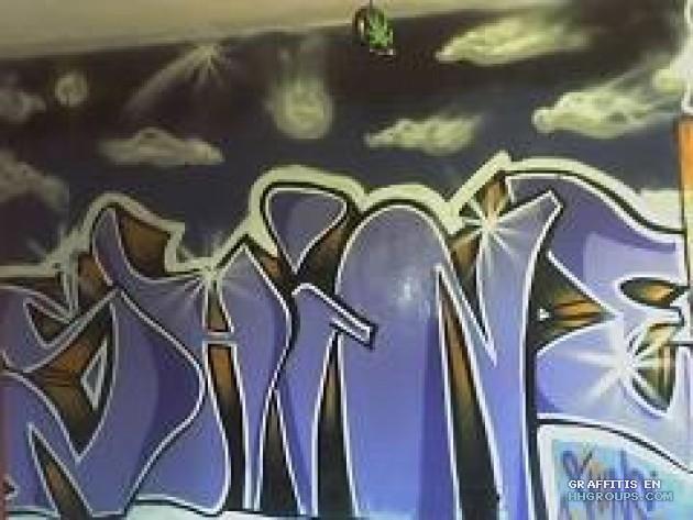 Graffiti de Shine en Barcelona, subido el Jueves, 8 de