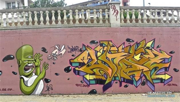 Undos lynks en Calella (Barcelona)