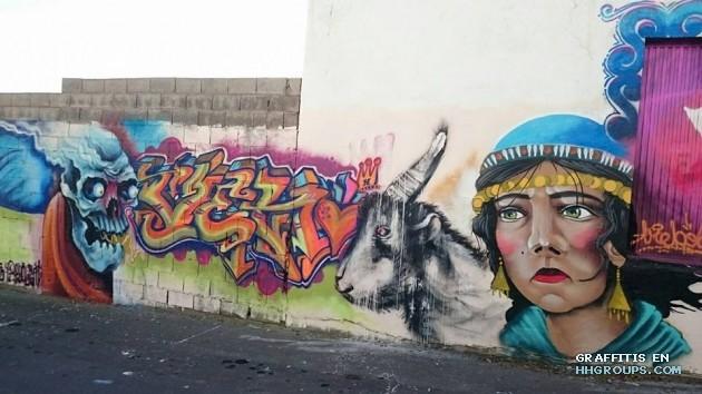 Venoh, Alpha y KSA en El Ejido (Almería)