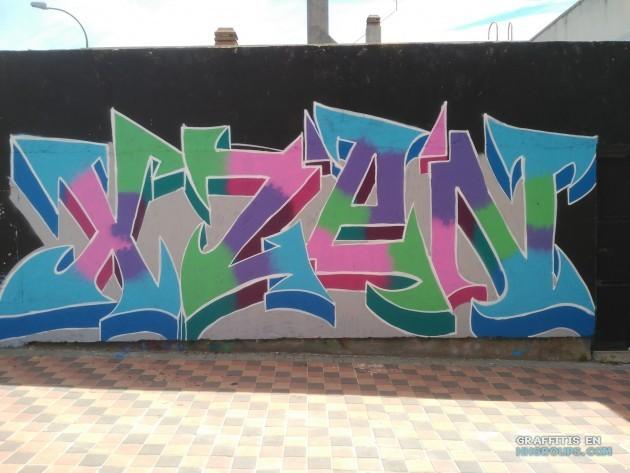Xzen en Vallecas (Madrid)